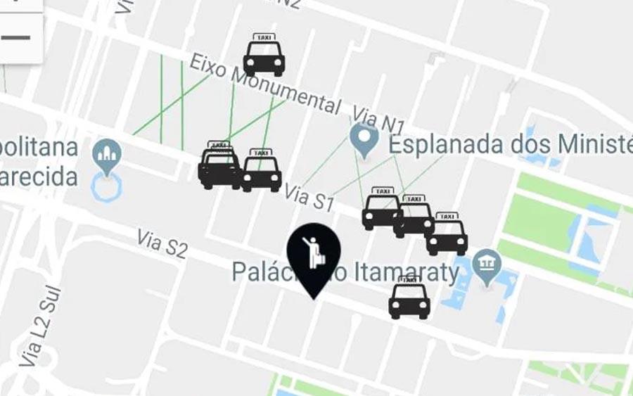 TáxiGov é um jeito fácil de chamar suas corridas de táxi