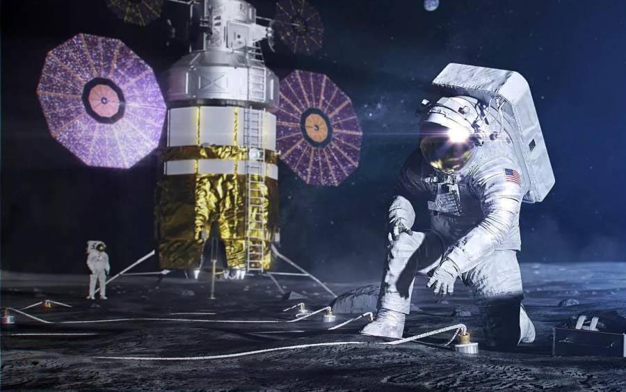Você já viu a paisagem lunar recriada em 4k pela NASA?