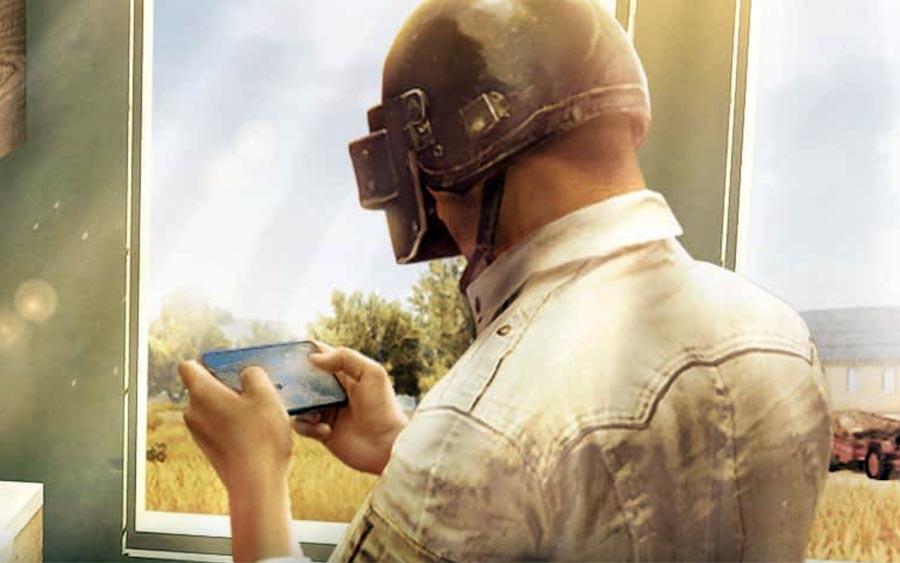 PUBG Mobile é um  jogo de ação bem intenso