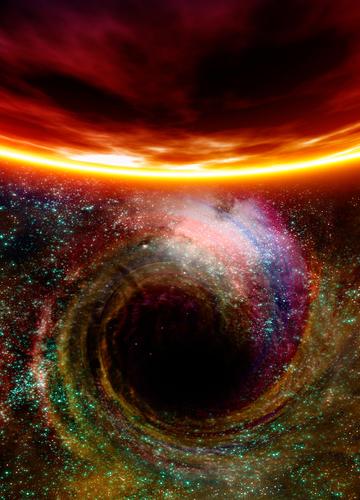 Buracos negros são derivados de estrelas