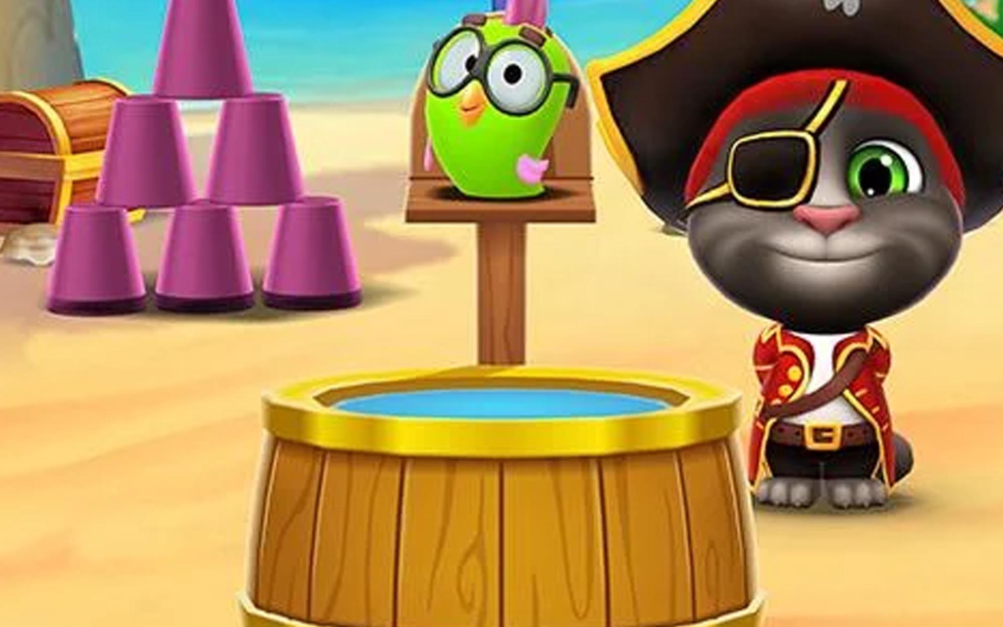 Dos criadores de Meu Talking Tom, conheça o novo sucesso mundial: Meu Talking Tom 2! Neste jogo legal e gratuito, o famoso gato Tom vai embarcar numa incrível aventura!