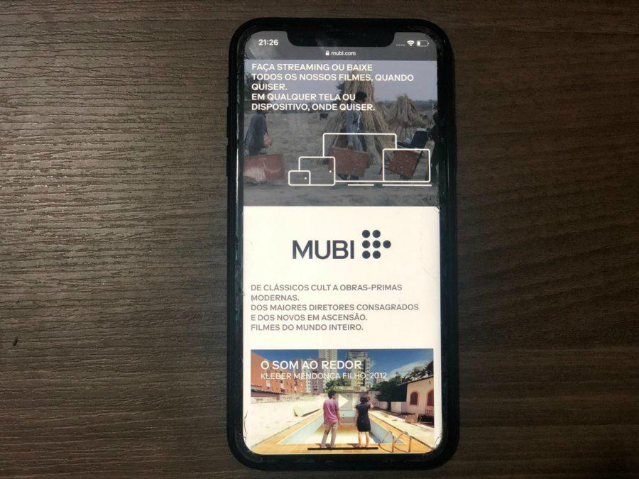 Mubi, plataforma de filmes traz diferentes streamings com épocas, gêneros e países, buscando agradar a diferentes tipos de usuários