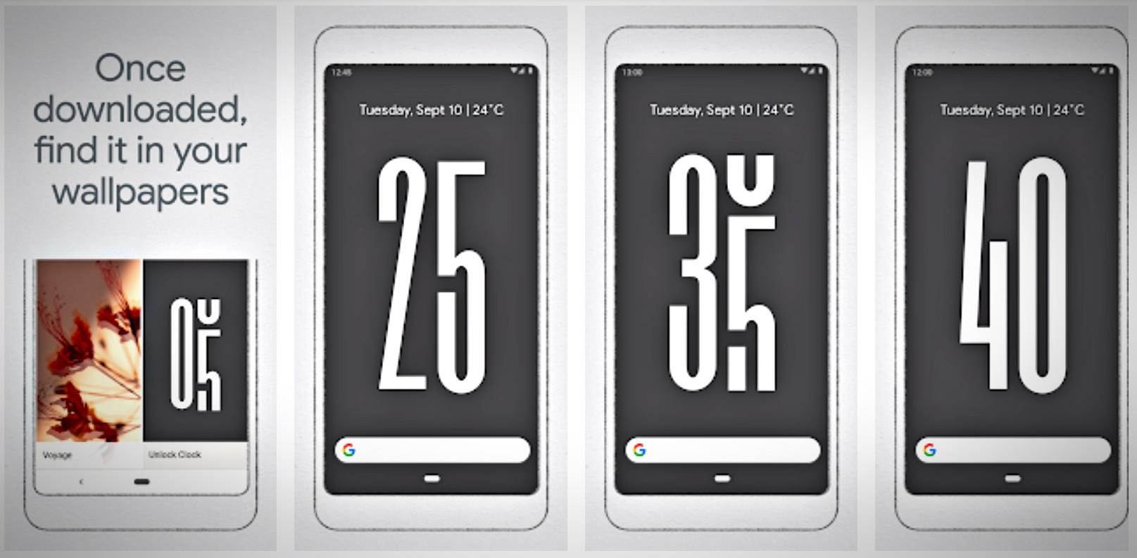 Você tem acesso rápido a quantidade de tempo que está usando seu smartphone.
