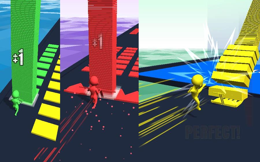 Stack Colors vem ganhando espaço entre jogos casuais