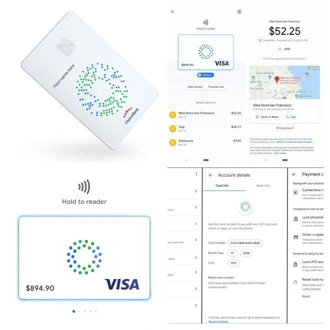 Novo cartão de pagamento físico do Google permitirá pagamentos sem contato (Imagem: TechCrunch)