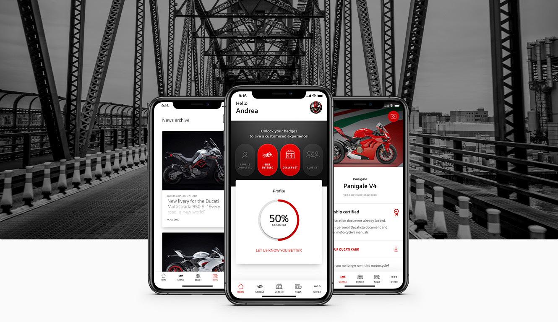 A Ducati lança o MyDucati App, o aplicativo móvel para você se manter atualizado com todas as novidades da fabricante de motocicletas com sede em Bolonha e acessar conteúdo especial e pré-visualizações exclusivas