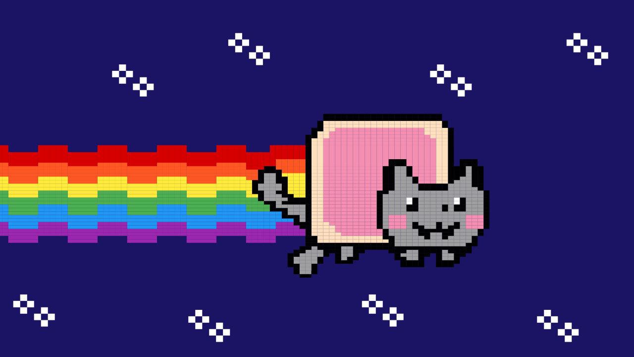 O GIF do Nyan Cat foi um dos NFTs vendidos recentemente