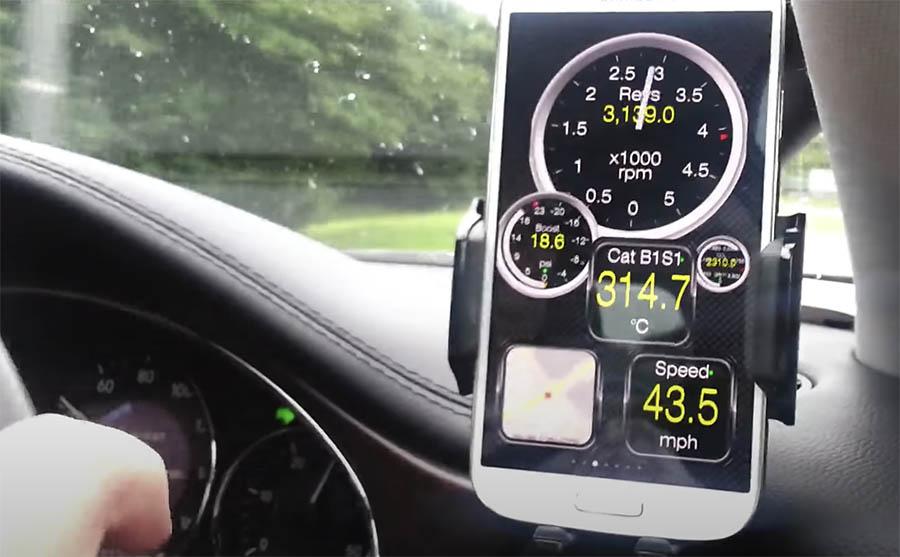 Veja o que seu carro está fazendo em tempo real, obter os códigos de falha do sistema OBD, o desempenho do carro, os dados do sensor e muito mais!