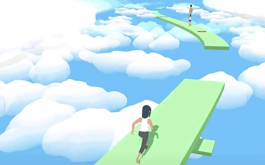 Tower Run é uma ideia estranha de jogo, mas diverte