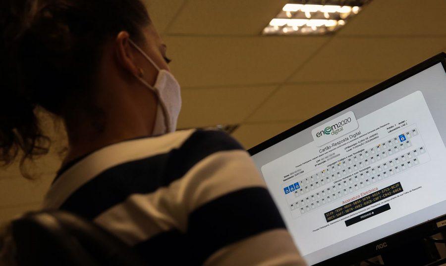 Enem digital © Marcello Casal jr/Agência Brasil